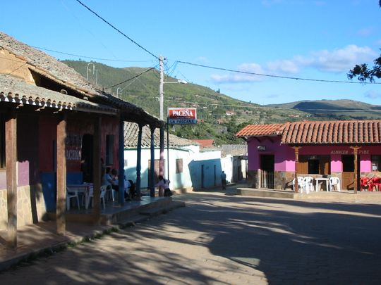 Plaza central de Samaipata
