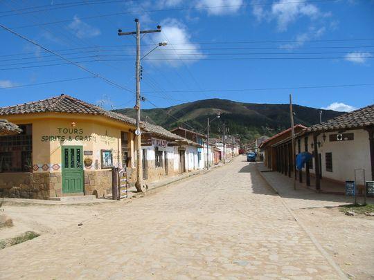 Calles de Samaipata